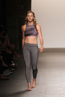 Lauren Fleshman on runway